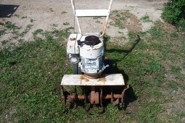 HEAVY DUTY front tine tiller