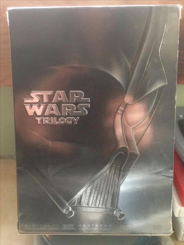 Original Star Wars Trilogy DVD Boxset Episode 4,5,6