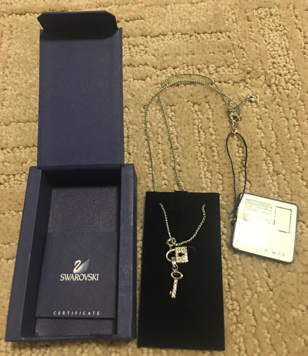 Authentic Swarovski KeyChain Pendant with box and tag