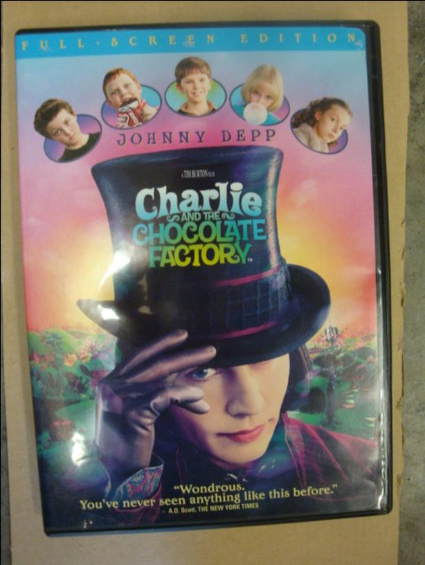 DVD Charlie & The Chocolate Factory