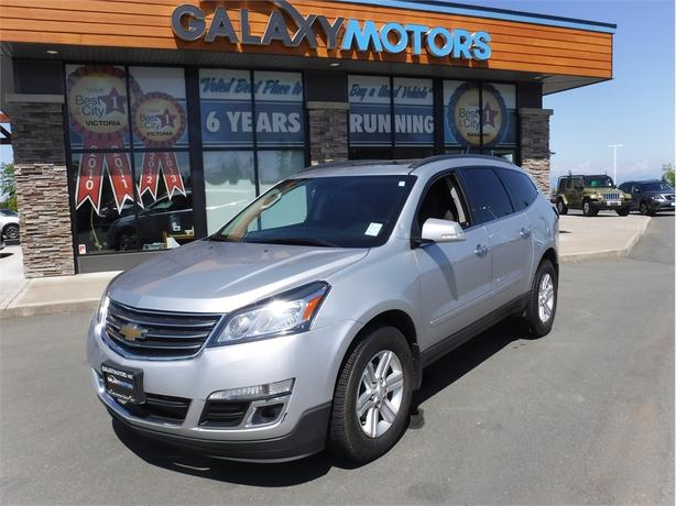 2014 Chevrolet Traverse 1LT- New Tires, BC Only, Moonroof