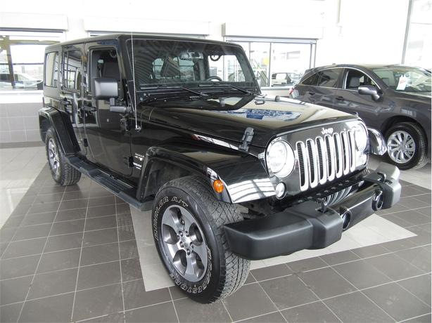 2016 Jeep Wrangler Unlimited Sahara