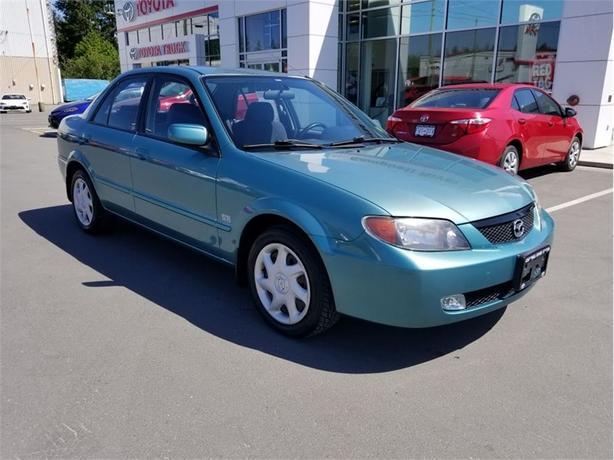 2002 Mazda Protegé SE