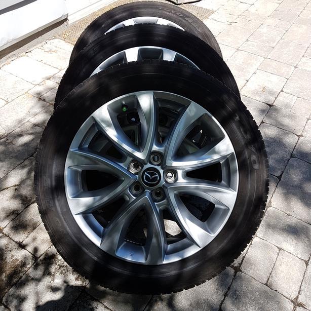 Mazda Tires w/rims