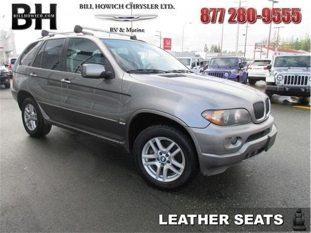 2005 BMW X5 3.0i - Air - Tilt - Rear Air