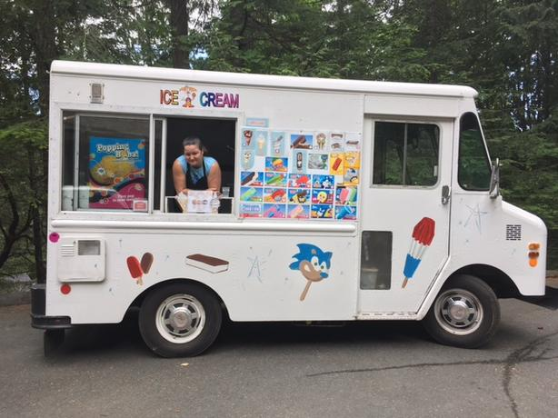 Soft Serve Ice Cream Truck for Hire