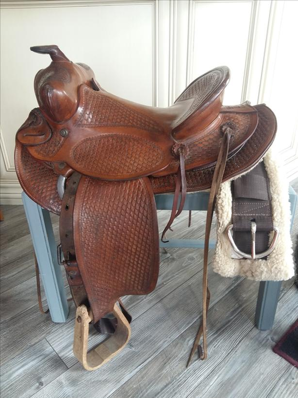 Youth western saddle  by Kenway