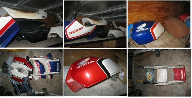 Honda 550F 1983 - Parts