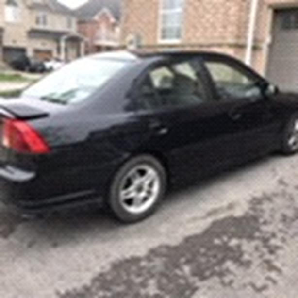 Honda Civic 2002 sports edition model