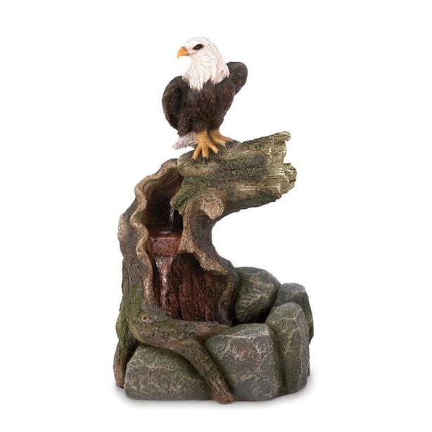 Indoor Outdoor Eagle Statue Water Fountain Brand New