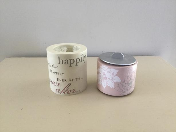 2 tealight candleholders
