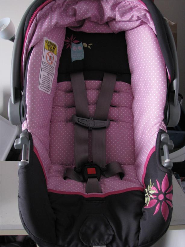 FREE Baby Car Seat Safety First Comfy Carry Elite