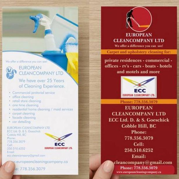 EUROPEAN CLEANCOMPANY LTD We offer Commercial janitorial service and more