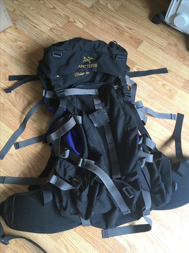 a01f317011d arc'teryx Bora 70L backpack Sooke, Victoria