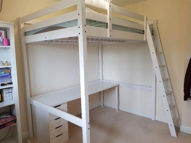afc3cec6567a IKEA   34 STORÅ  34  Loft Bed Frame + Mattress (Double)  250 OBO ...