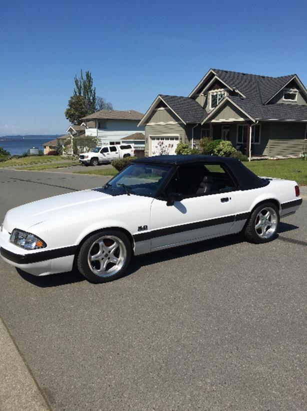 1989 Ford Mustang 5.0 H.O Convertible
