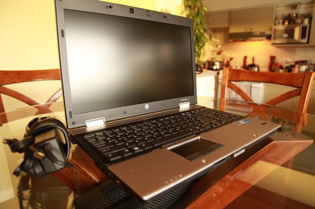 HP EliteBook 8540p, Intel Core i5, Win7Pro,1Gb Nvidea Graphics