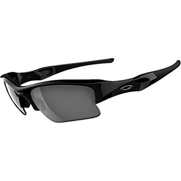 Oakley Flak Jacket XLJ Black Iridium Polarized Sunglasses
