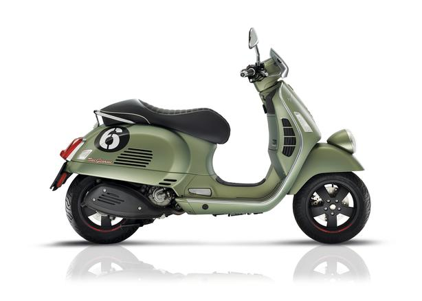 VESPA*** Sei Giorno 300cc Hand Built in Italy. Limited Edition**