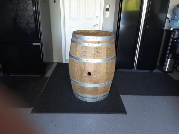 French White Oak Wine Barrels
