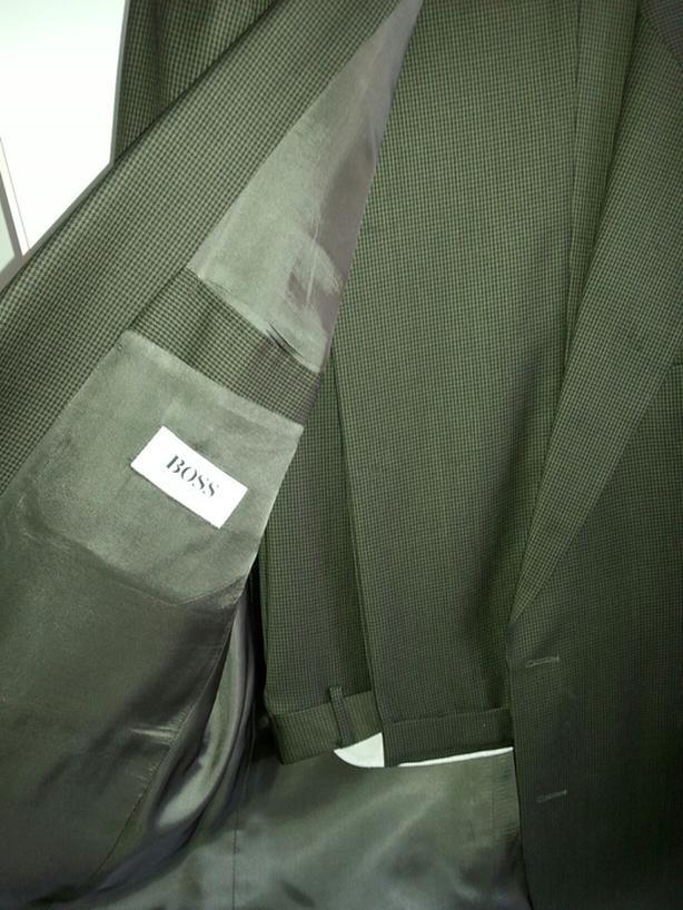 Veston HUGO BOSS Suit ( Authentique ) Couleur Olive