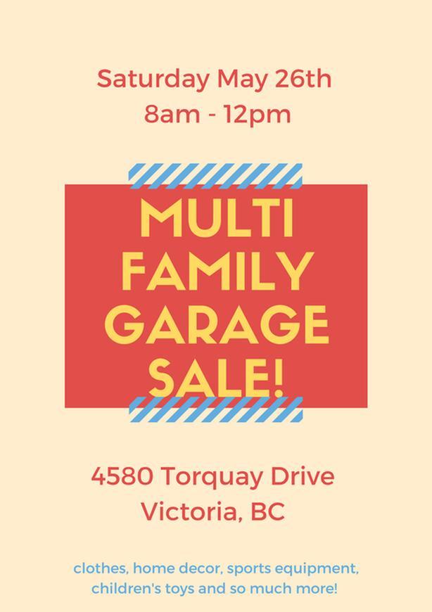 Log In Needed Multi Family Garage Sale