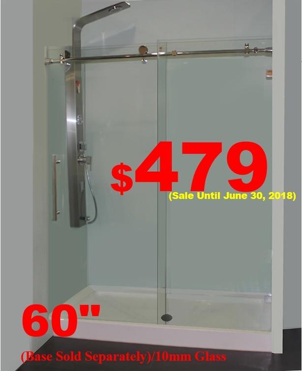 Shower Enclosures/Shower Doors/Bathtubs