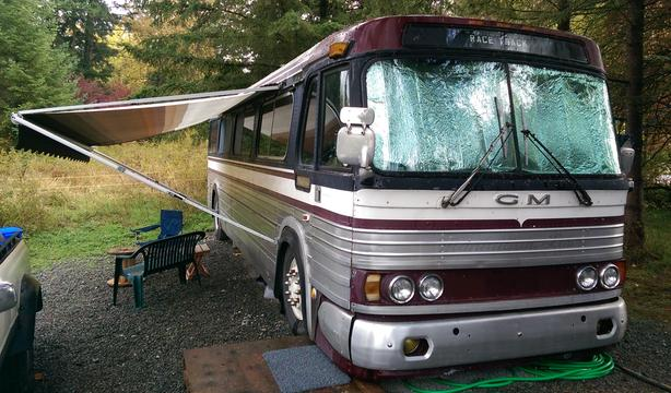  Log In needed $25,000 · 1964 GM PD 4106 RV / Tiny House