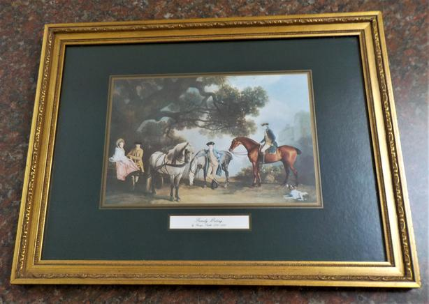 """""""Family Outing"""" by George Stubbs (1724-1806)"""
