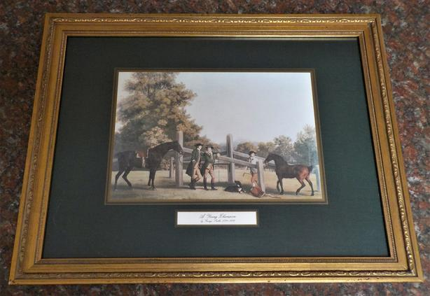 """A Young Champion"" & ""Family Outing"" by George Stubbs (1724-1806)"
