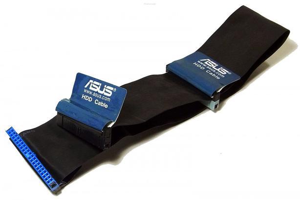 New ASUS 8-Inch Dual Drive Ultra ATA IDE Hard Drive Cable