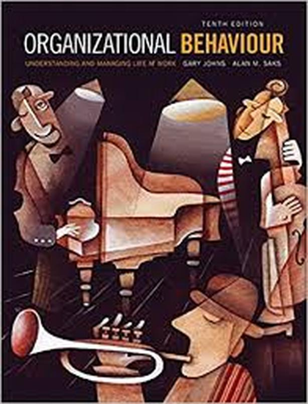 organizational behaviour tenth edition