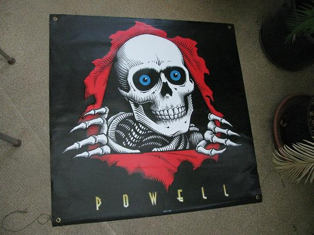 Ripper vinyl banner