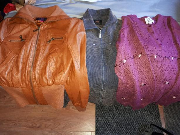 jacket, long sleeves