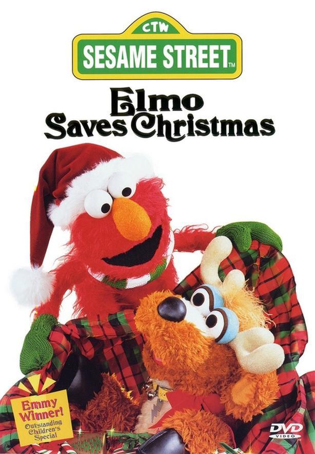 Sesame Street Elmo Saves Christmas (DVD) - B2G1 Free!
