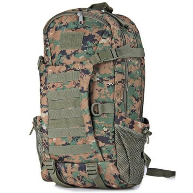 Tactical Military Molle Rucksack Backpack Bag 35L - Camouflage