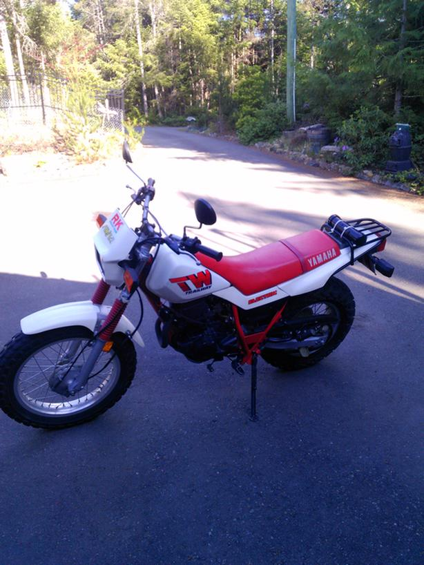 1988 Yamaha TW 200