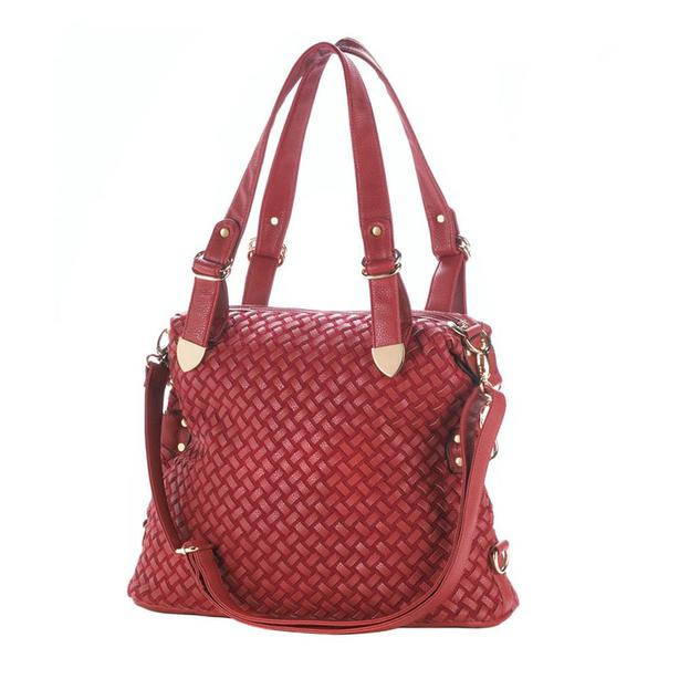 Breezy Couture Leather-Look Handbag Purse 3 Styles Your Choice Brand New