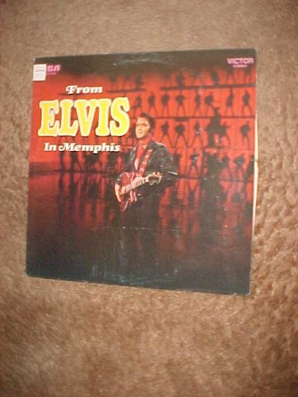 FROM ELVIS IN MEMPHIS VINYL LP