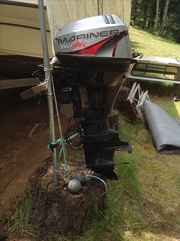 Outboard motor Central Nanaimo, Nanaimo