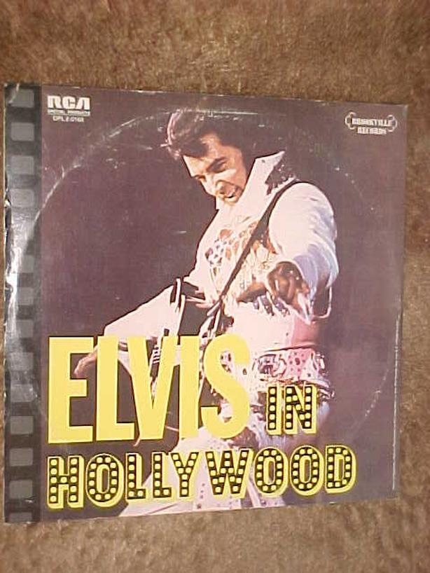 ELVIS IN HOLLYWOOD DOUBLE VINYL LP
