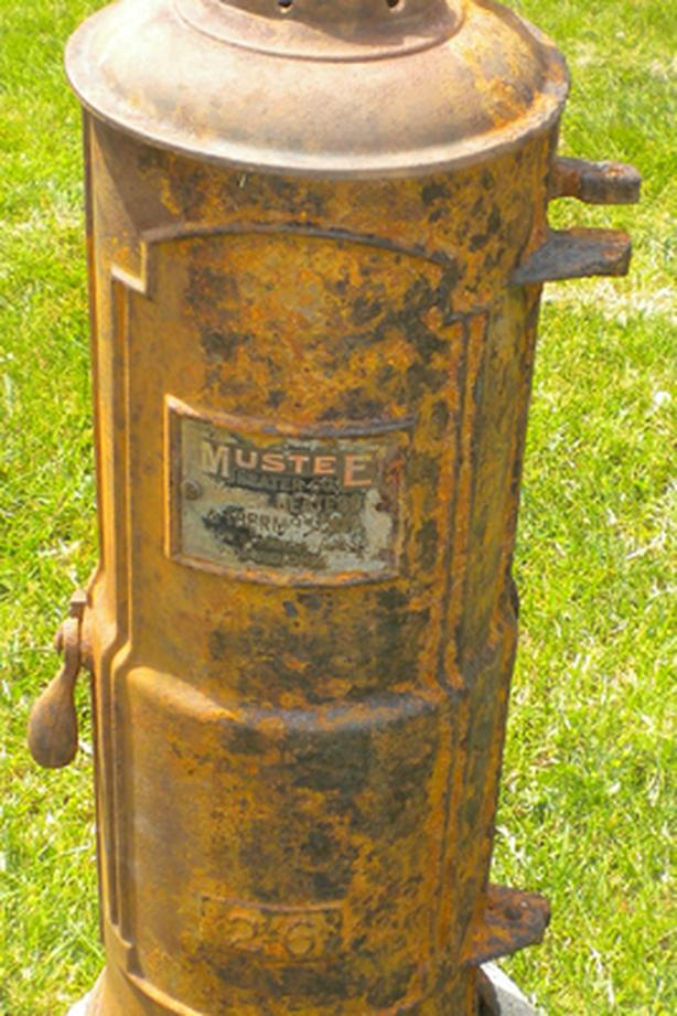 OBO Antique Water Heater Copper Cast Iron Mustee Steampunk AVAILABLE