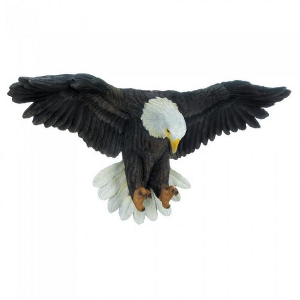 Eagle Ornament Wall Sculpture Brand New
