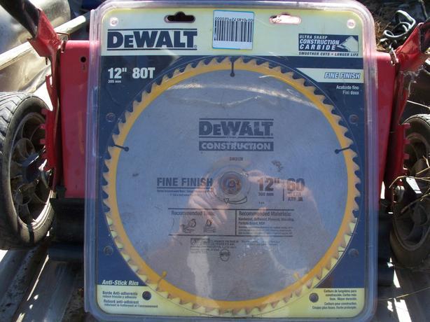 """Dewalt DW3126 12"""" Saw Blade"""