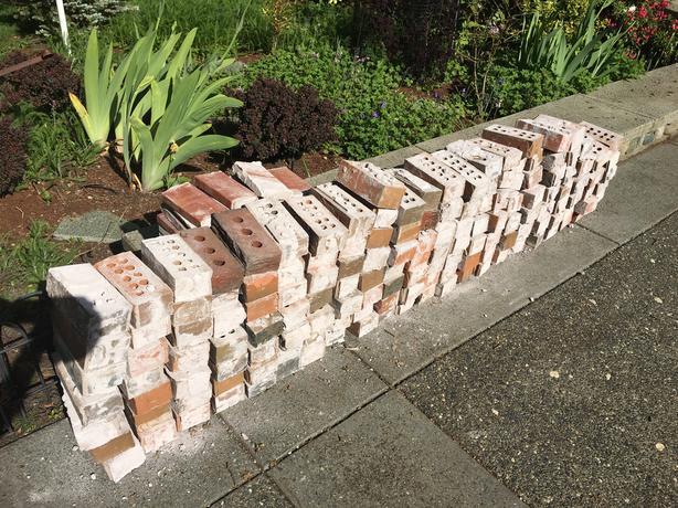 Fill, Rubble, Red Bricks, Concrete (Cinder) Blocks Saanich, Victoria