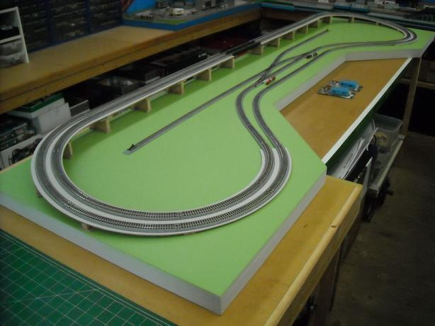  Log In needed $325 · New Complete N Scale Model Railroad Layout with Kato  Unitrack