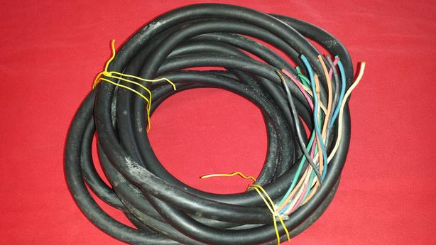 Bronco Electrical Control Cable