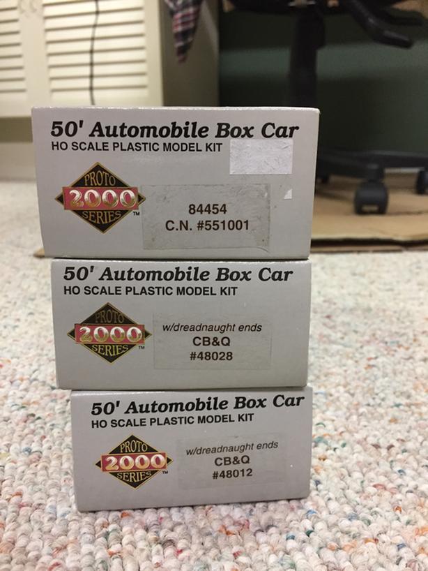 NEW PROTO 2000 BOX CARS