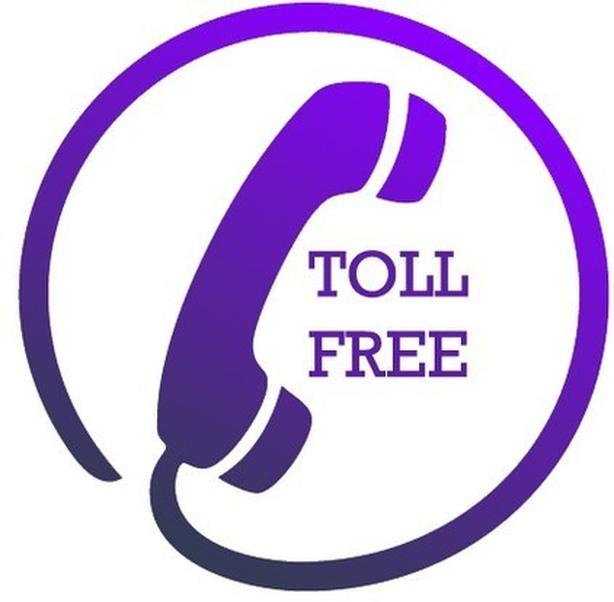 how to call toll free number