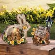Solar Bunny Rabbit Yard Ornament LED Pathway Light Lamp 3 Styles Mixed NEW